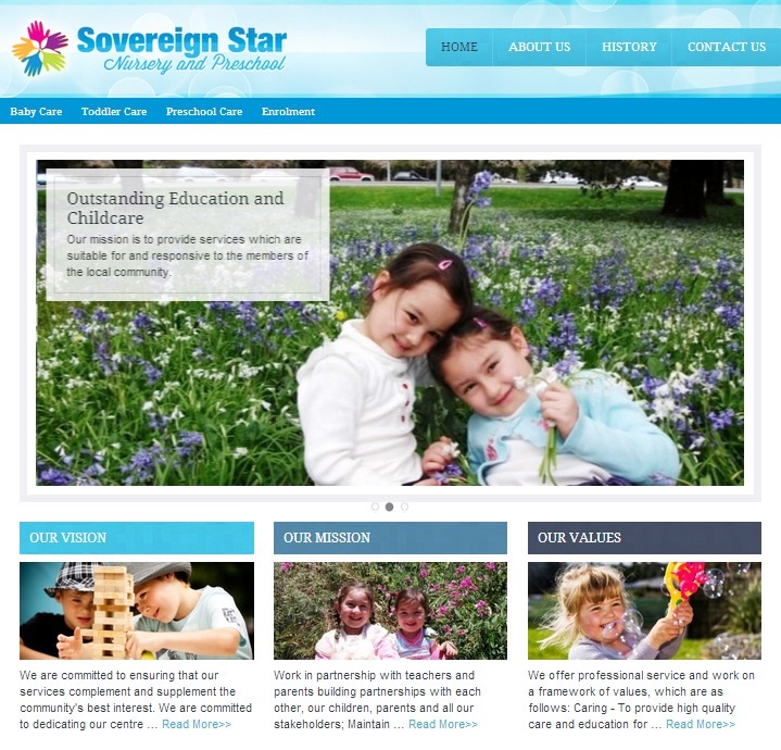 Sovereign Star Preschool – Outstanding Education and Child Care