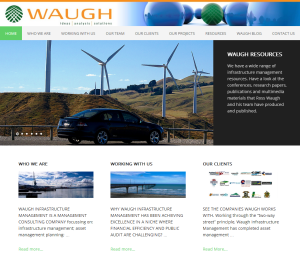 Waugh Infrastructure Management Founder Writes About Blogging, Updated Website and Online Writing Niche