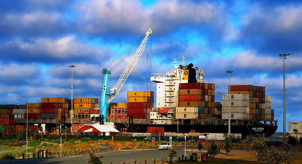Timaru Port by Ross Waugh