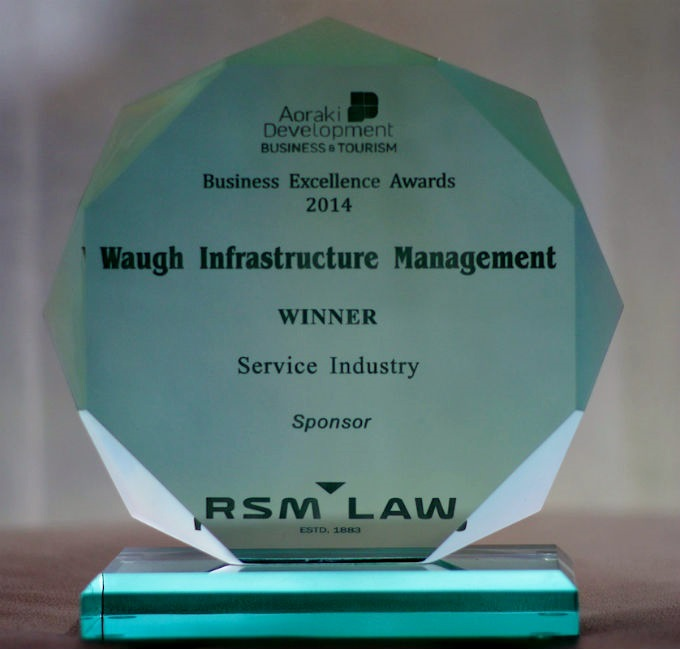 Congratulations Waugh Infrastructure Management – Business Excellence Awards (Service Industry )