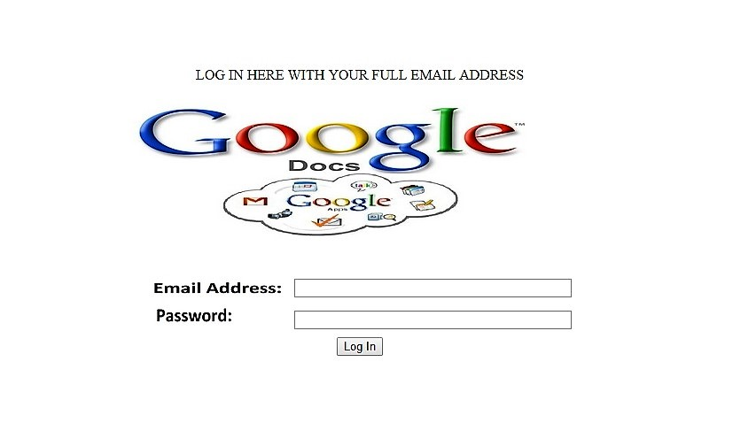 Gmail hacking scheme