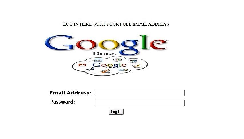 Gmail hacking scheme